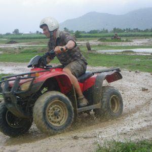 ATV - All Terrain Vehicle tours are a blast