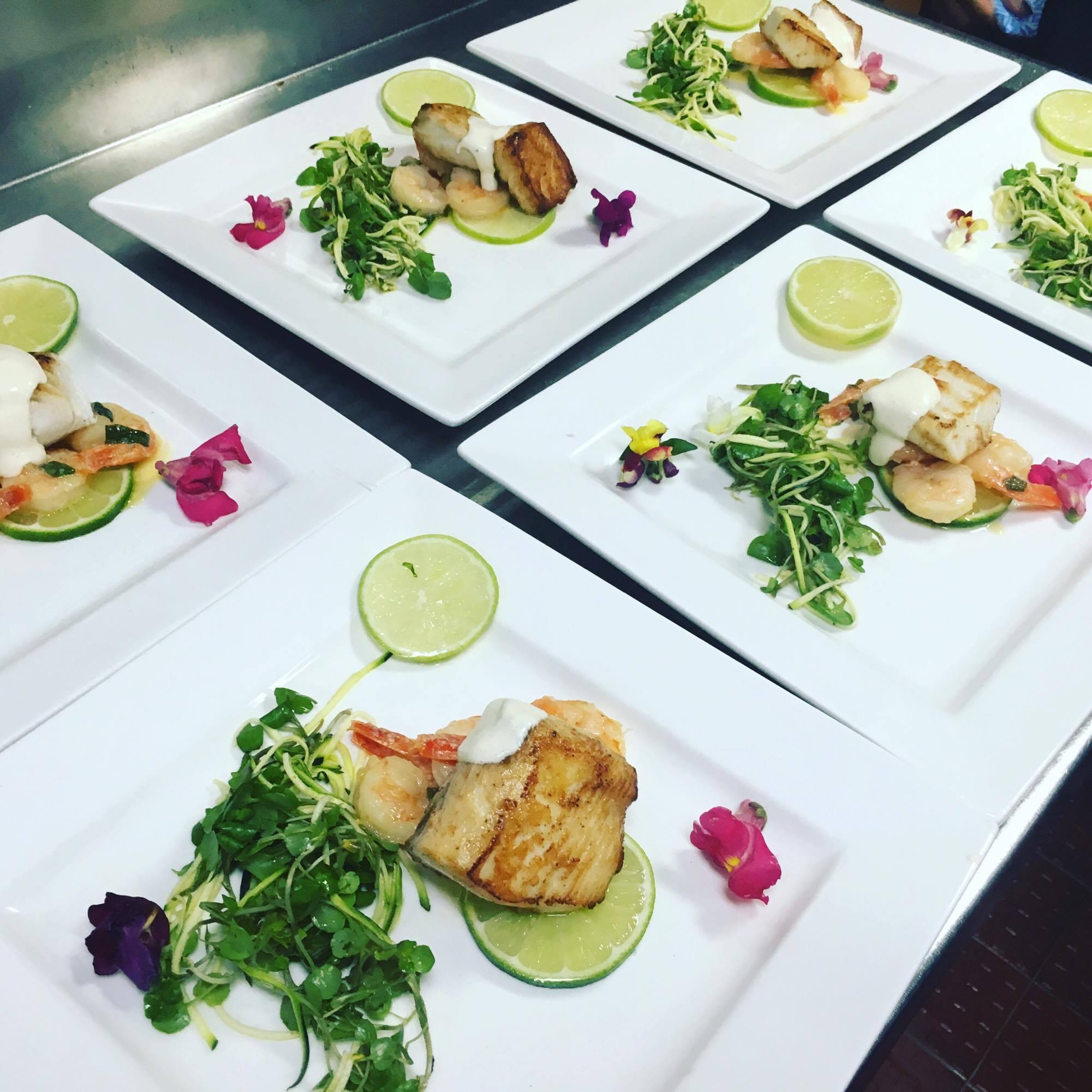 Chef prepared, gourmet meals served onboard Reef Encounter