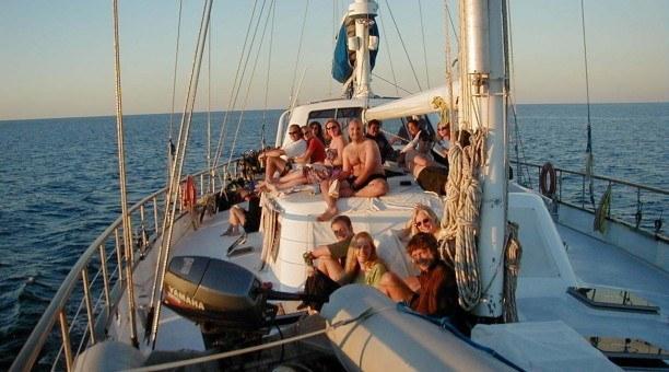 Anaconda III sailing Whitsundays, Australia