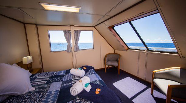 Top Deck room on board Reef Encounter