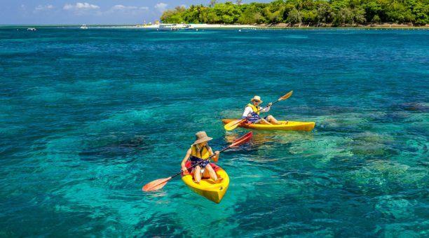 Kayaking on Green Island