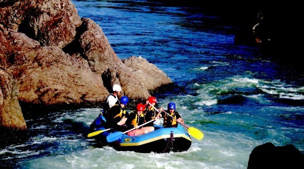 Tully River Rafting  North Queensland