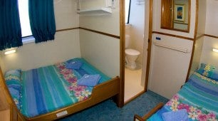 MikeBall club accommodation, coral sea dive expeditions, North Queensland Australia