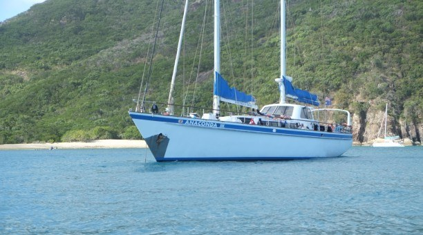 Anaconda III Whitsundays Sailing Queensland Australia