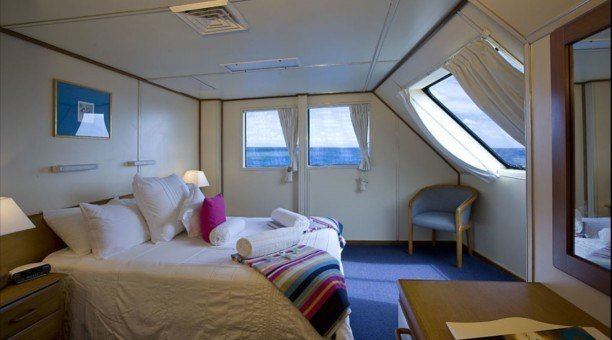 Great Barrier Reef VIP accommodation on Reef Encounter