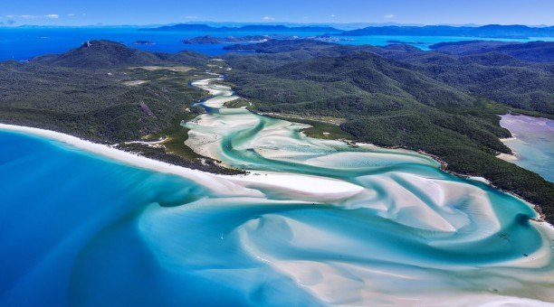 Whitehaven Beach, Whitsundays, Queensland Australia