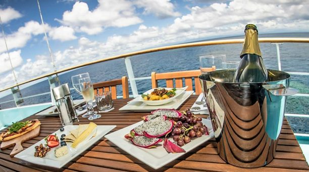 Champagne on the Top Deck Club