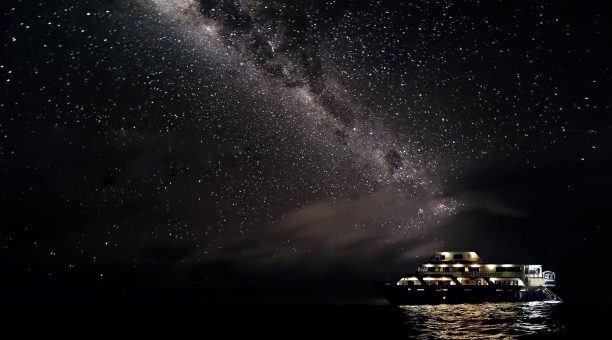 Stars over the Coral Sea
