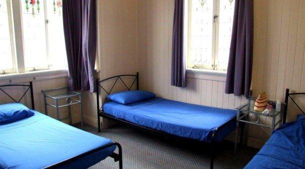 Dormitory at cairns Girls Hostel