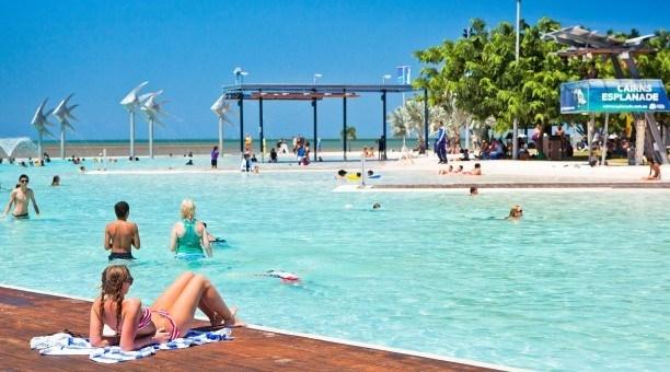 Cairns lagoon, Australia