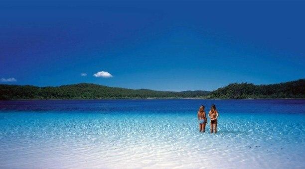 Lake MacKenzie, Queensland, Austraila