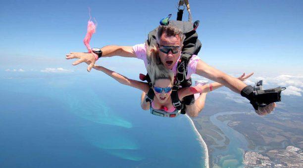 Tandem Skydive freefall