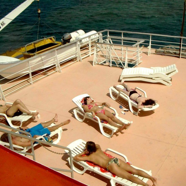 Great Barrier Reef Sundeck