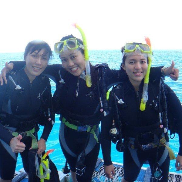 Outstanding scuba diving tours