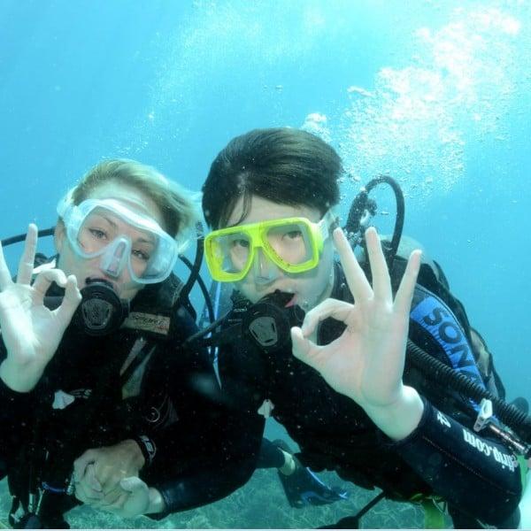 Referral Dive Course Top Deck