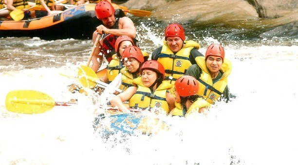 Barron River White Water Rafting North Queensland
