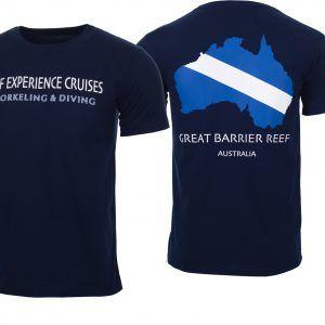 Reef Experience Dive Flag Tshirt