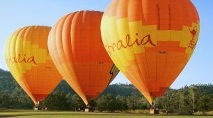 Hot Air Ballooning is a wonderful way to take in spectacular views.  Hot Air Ballooning is a great way to start your day, float quitely over breathtaking scenery at sunrise followed by a delicious breakfast.  Book Today