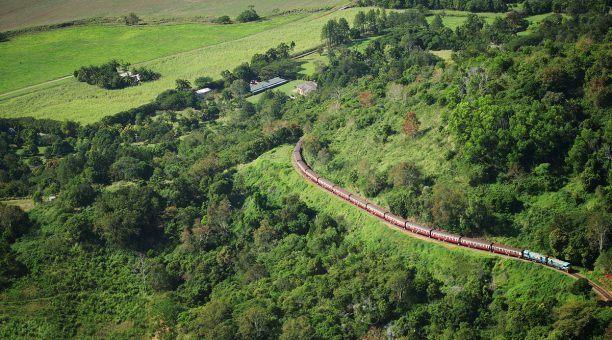 Kuranda SCenic Rail in Freshwater Valley