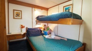 twin Stateroom Spirit of Freedom North Queensland Dive Expeditions Australia