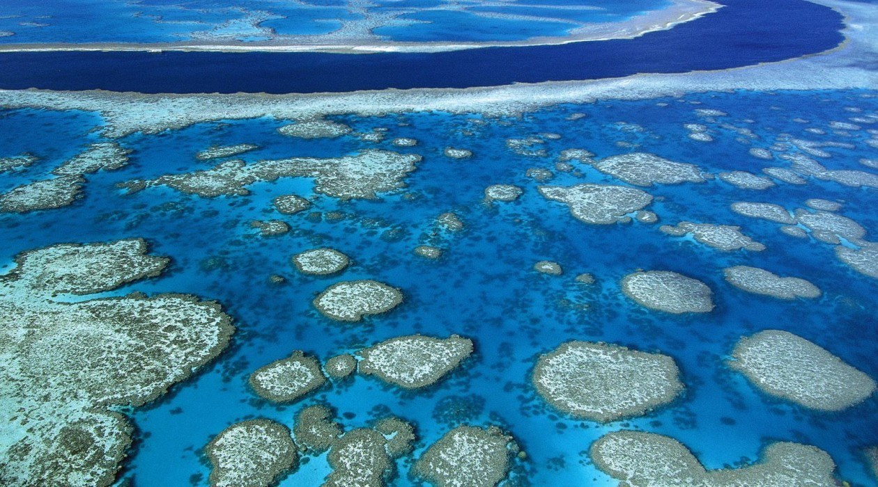 Great Barrier Reef Scenic Flight, Queensland Australia