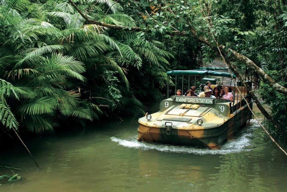 Rainforeststation Army Duck