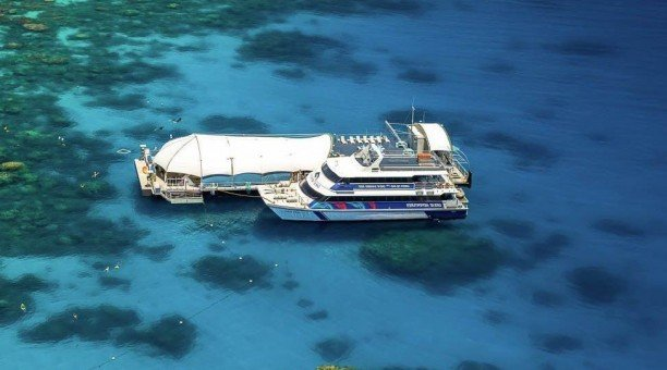 Great Barrier Reef Pontoon Adventure