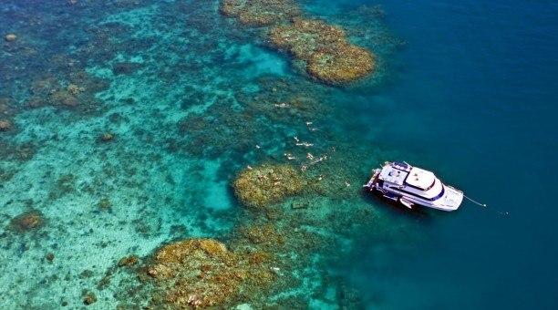 Great Barrier Reef snorkelling location