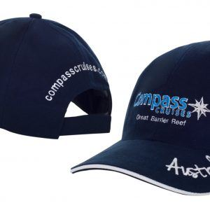 Compass Cruises Blue on Blue Cap