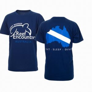 Reef Encounter Dive Flag Tshirt