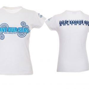 Ladies Save Our Seas Tshirt