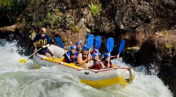 Tully river white water rafting