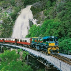 Kuranda Scenic Rail, Rainforestation Army Duck and Skyrail (KDB)