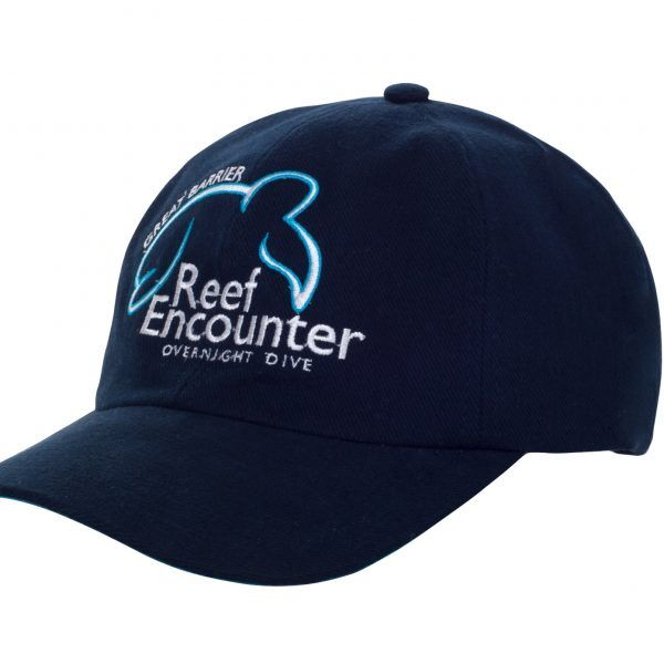 Reefencounter Hat Blue Front