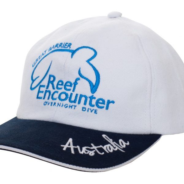 Reef Encounter White Cap front