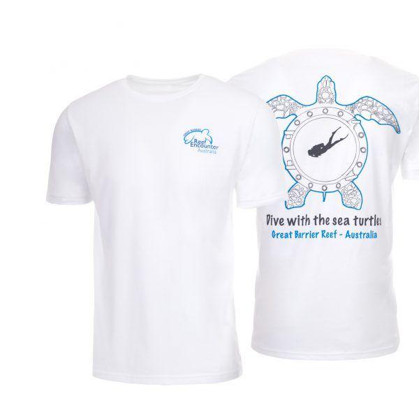 Reef Encounter Turtle Tshirt