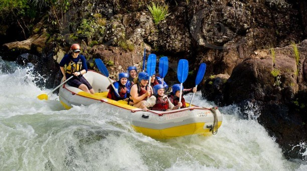 white water rafting Tully River North Queensland