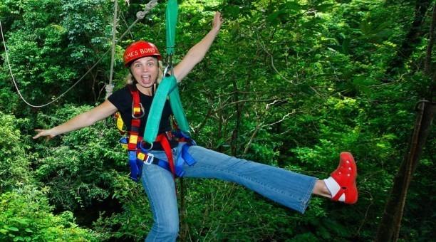 Cape Tribulation Jungle Swing