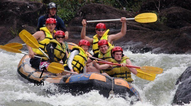 Tully River Rafting, Queensland Australia