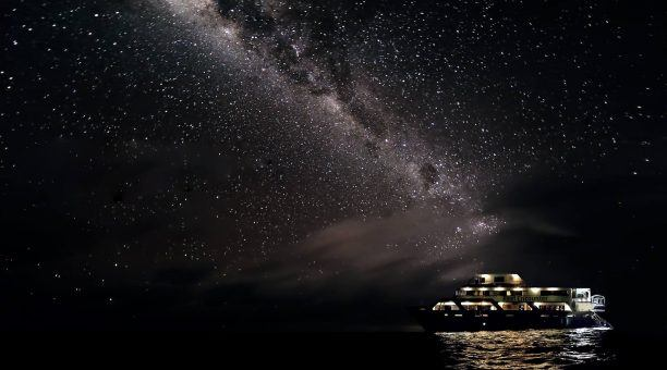 Stars over the Coral Sea