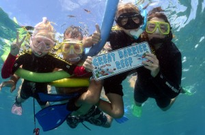 Family snorkel trips with 'Reef Experience' - Cairns, Australia