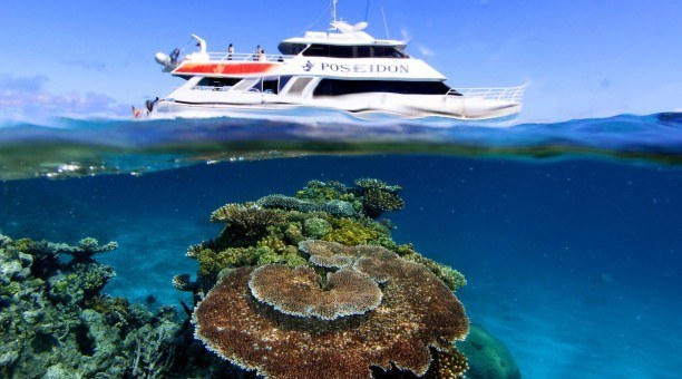 Poseidon Great Barrier Reef Cruise, Port Douglas Australia