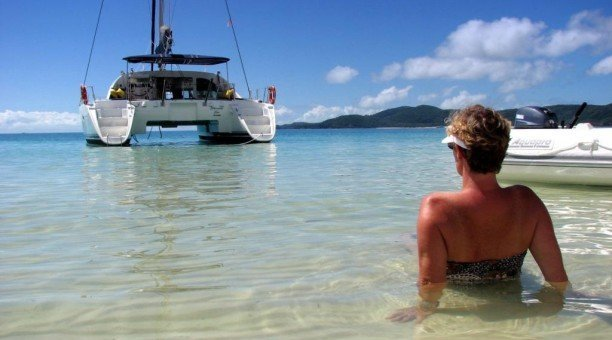 Relax with Whitsunday Blue Sailing, Whitsundays Australia