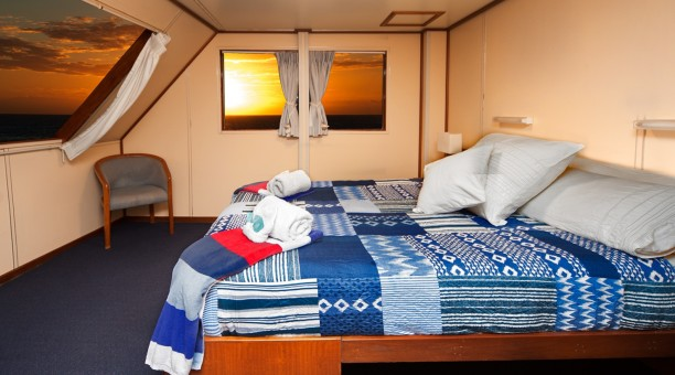 The best rooms onboard Reef Encounter