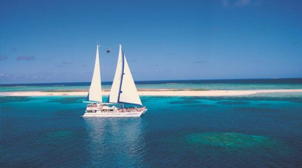 Ocean Spirit at Michaelmas Cay