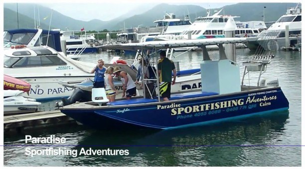 Paradise sport fishing, Cairns North Queensland Australia