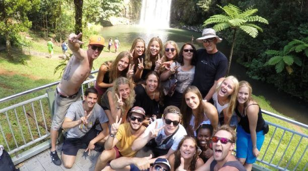 Best Selfie Ever at Milla Milla Falls
