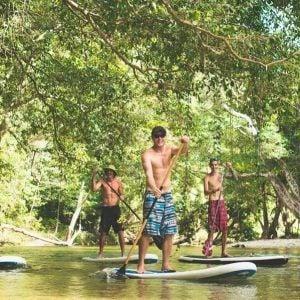 Rainforest River Standup Paddle Boarding