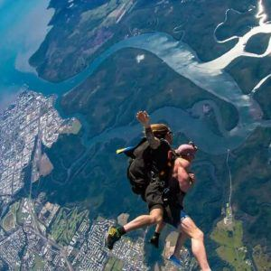 Skydiving .. its an extreme adventure