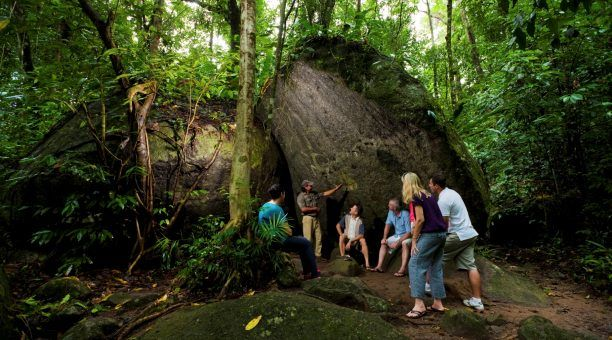 Mossman Gorge Kuku Yalanji rainforest presentation